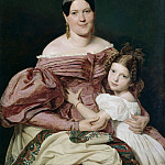 Theodor Leopold Weller - Mother and child
