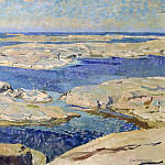Unknown painters - The Gåsö Skerries