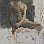 Unknown painters - Study of a Model