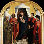 Rogier Van Der Weyden - Weyden_Virgin_with_the_Child_and_Four_Saints