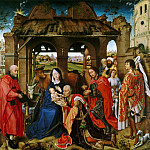 Rogier Van Der Weyden - 1455 Three Kings Altar (Columba Altar)