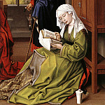 Rogier Van Der Weyden - Weyden_The_Magdalene_Reading