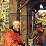 Rogier Van Der Weyden - Adoration_of_the_Magi_detail1_WGA