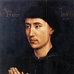 Rogier Van Der Weyden - Weyden Portrait Diptych of Laurent Froimont (right wing)