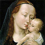 Rogier Van Der Weyden - Virgin_and_child_EUR
