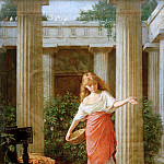 John William Waterhouse - In The Peristyle