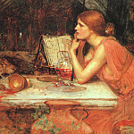 John William Waterhouse - The Sorceress