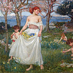 John William Waterhouse - A song of springtime