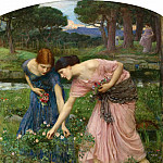 John William Waterhouse - Gather Ye Rosebuds While Ye May