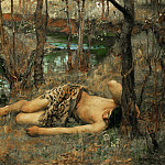 John William Waterhouse - The Naiad
