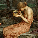 John William Waterhouse - Psyche Opening the Golden Box