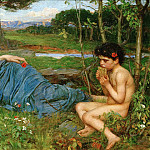 John William Waterhouse - Listen to my Sweet Pipings