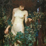 John William Waterhouse - A Hamadryad