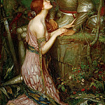 John William Waterhouse - Lamia