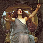 Circe Offering the Cup to Ulysses, John William Waterhouse