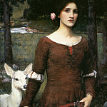 The Lady Clare, John William Waterhouse