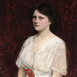 John William Waterhouse - Portrait of Miss Claire Kenworthy
