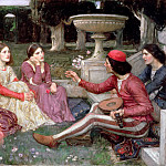 John William Waterhouse - The Decameron