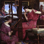 John William Waterhouse - Waterhouse_Penelope_and_the_Suitors