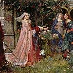 John William Waterhouse - The Enchanted Garden