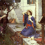 John William Waterhouse - The annunciation
