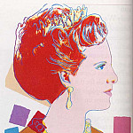 Andy Warhol - Warhol - Queen Margrethe Ii Of Denmark