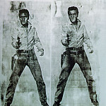 Andy Warhol - Warhol Double Elvis, 1963, Private