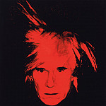 Энди Уорхол - Warhol Self portrait, 1986, Private