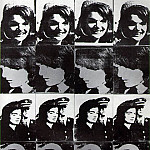 Энди Уорхол - Warhol Sixteen Jackies, 1964, Walker Art Center, Minneapolis