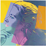 Andy Warhol - Warhol - Ingrid Bergman (as Herself) (2)