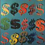 Andy Warhol - Warhol - Dollar Signs