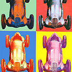 Andy Warhol - Warhol - Benz Racing Car