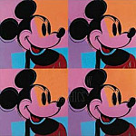 Andy Warhol - Andy-Warhol-Mickey-Mouse-8380