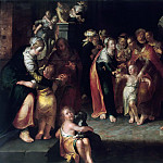 Christ with Children, Joachim Wtewael