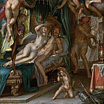 Mars and Venus Surprised by Vulcan, Joachim Wtewael