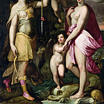 The Apotheosis of Venus and Diana, Joachim Wtewael