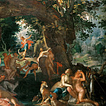 Joachim Wtewael - Diana and Actaeon