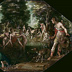 Actaeon Watching Diana and Her Nymphs Bathing, Joachim Wtewael