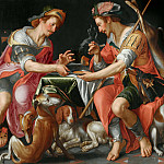 Jacob and Esau, Joachim Wtewael