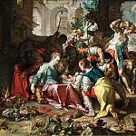 Adoration of the Shepherds, Joachim Wtewael
