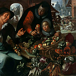 The fruit and vegetable seller, Joachim Wtewael