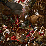 Annunciation to the Shepherds, Joachim Wtewael