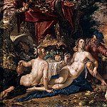 Lot and his Daughters, Joachim Wtewael