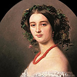 Franz Xavier Winterhalter - Maria Louise of Wagram Princess of Murat