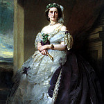 Franz Xavier Winterhalter - Portrait of Lady Middleton (1824-1901)