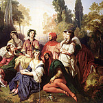 Franz Xavier Winterhalter - The Decameron