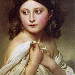 Adolphe William Bouguereau - A Young Girl called Princess Charlotte