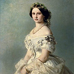 Franz Xavier Winterhalter - Portrait of Princess of Baden