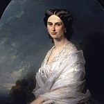 Franz Xavier Winterhalter - Portrait of Countess Sophia Bobrinskaya
