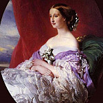 Franz Xavier Winterhalter - The Empress Eugenie